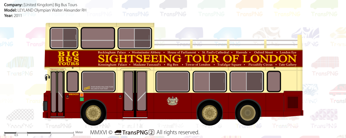 [20007] The Big Bus Tours 20007