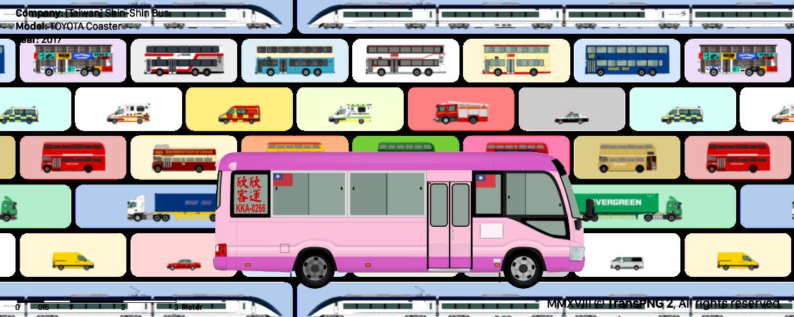 TransPNG.net | 分享世界各地多種交通工具的優秀繪圖 - 巴士 20056