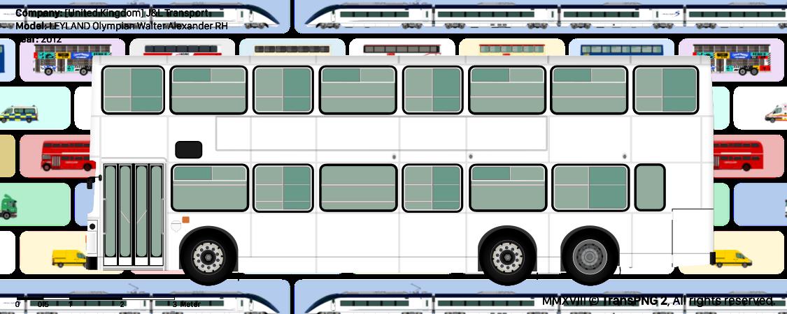 TransPNG.net | 分享世界各地多種交通工具的優秀繪圖 - 巴士 20058