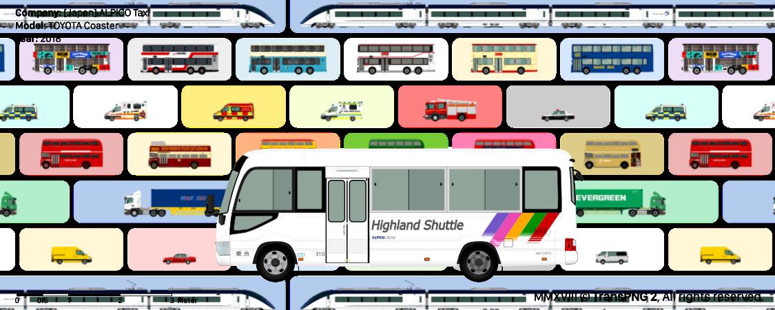 TransPNG.net | 分享世界各地多種交通工具的優秀繪圖 - 巴士 20059