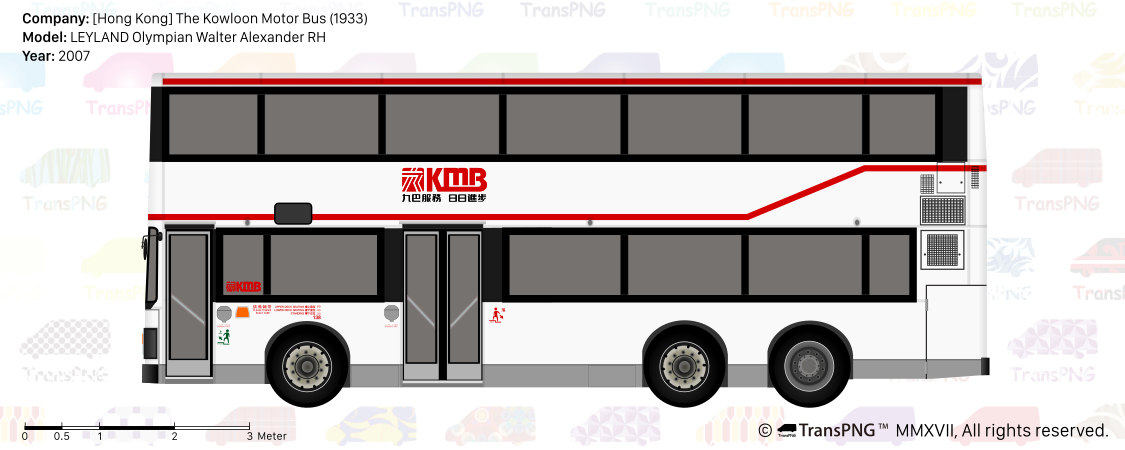 TransPNG.net | 分享世界各地多種交通工具的優秀繪圖 - 巴士 20152
