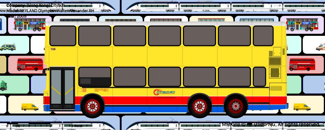 TransPNG.net | 分享世界各地多種交通工具的優秀繪圖 - 巴士 20159