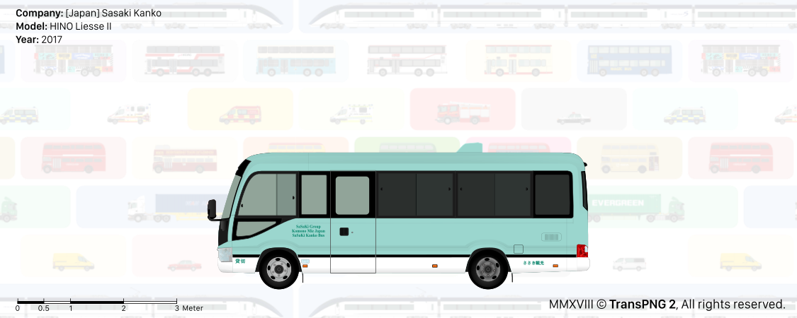 TransPNG US | Sharing Various Transport Drawings - Bus 20174