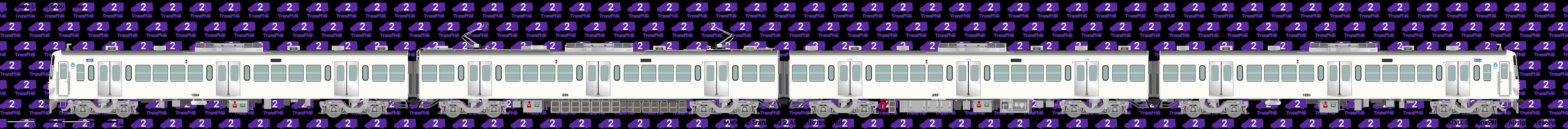 铁路列车 24009