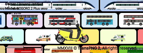 TransPNG TAIWAN | 分享世界各地多種交通工具的優秀繪圖 - 機車 29004
