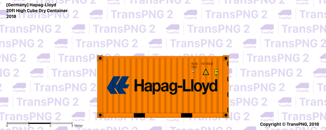 [C20013] Hapag-Lloyd 20ft Dry Steel Container C20013