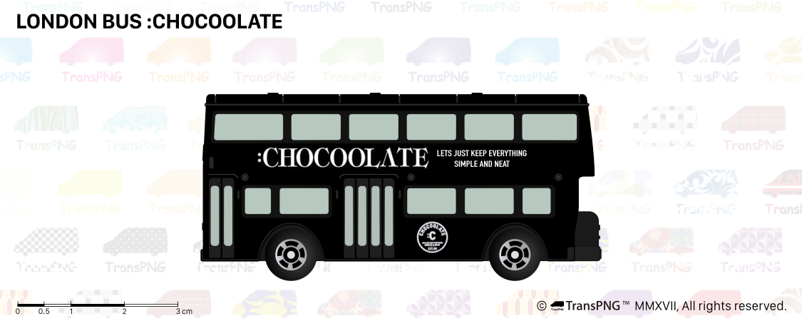 [T20015] London Bus :Chocolate T20015